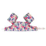 06 HappySwimmer - Zwembandjes/zwemvest voor peuters en kleuters met Flamingo print_