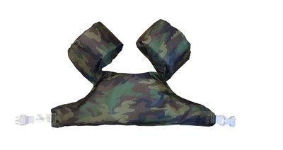08 HappySwimmer - Zwembandjes/zwemvest voor peuters en kleuters met Army print